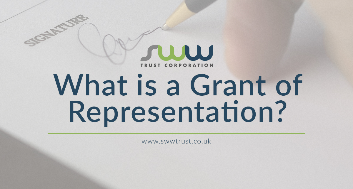 What is a Grant of Representation?